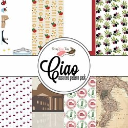 Ciao Assorted 12 x 12 Paper Pack