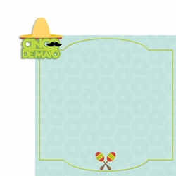 Cinco De Mayo 2 Piece Laser Die Cut Kit