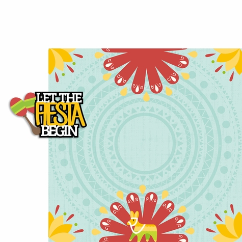 Cinco de Mayo: Fiesta 2 Piece Laser Die Cut Kit