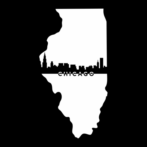 2SYT Cities: Chicago 12 x 12 Overlay Laser Die Cut