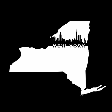 Cities: New York 12 x 12 Overlay Laser Die Cut