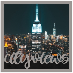 City views Overlay Quick Page Laser Die Cut