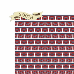 Civil War: South 2 Piece Laser Die Cut Kit