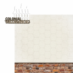 Colonial Williamsburg: Colonial Williamsburg 2 Piece Laser Die Cut Kit