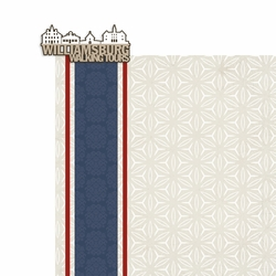 Colonial Williamsburg: Walking Tours 2 Piece Laser Die Cut Kit