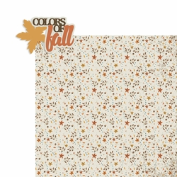 Color of Fall 2 Piece Laser Die Cut Kit