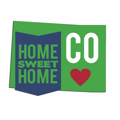 2SYT Colorado Travels:  CO Home Sweet Home Laser Die Cut