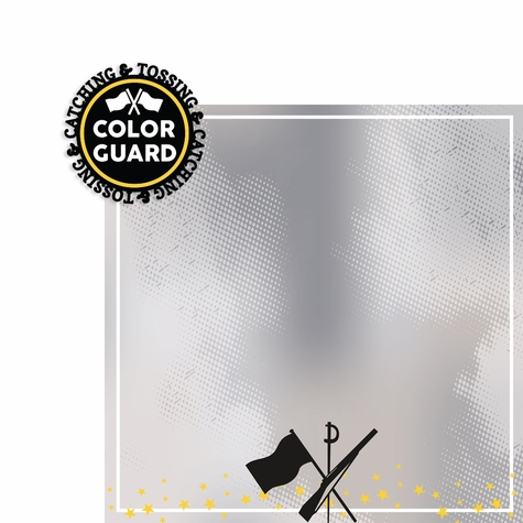 Colorguard: Catching and Tossing 2 Piece Laser Die Cut Kit