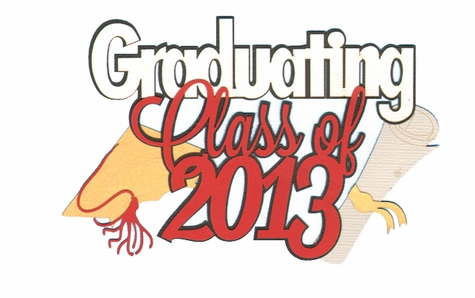 Congrats Grad: Custom Graduating Class Of Laser Die Cut