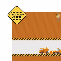Construction Zone 2 Piece Laser Die Cut Kit