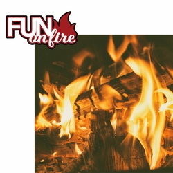 Cookout: Fun on Fire 2 Piece Laser Die Cut Kit