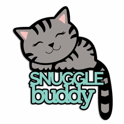 Cool Cat: Snuggle buddy Laser Die Cut