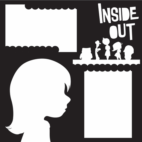 Costumes: Inside Out 12 x 12 Overlay Laser Die Cut