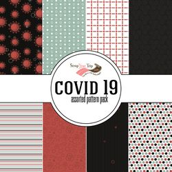 Covid 19 Assorted 12 x 12 Paper Pack