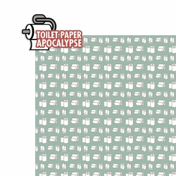 Covid 19: Toilet Paper 2 Piece Laser Die Cut Kit