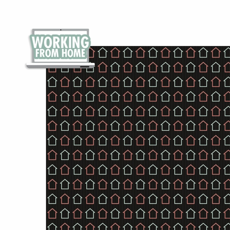 Covid 19: Working from Home 2 Piece Laser Die Cut Kit
