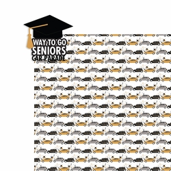 Covid: Senior Car Parade 2 Piece Laser Die Cut Kit