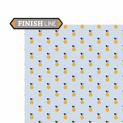 Cross Country: Finish Line 2 Piece Laser Die Cut Kit