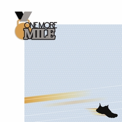 Cross Country: One more mile 2 Piece Laser Die Cut Kit