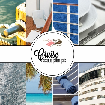 Cruise Assorted 12 x 12 Paper Pack