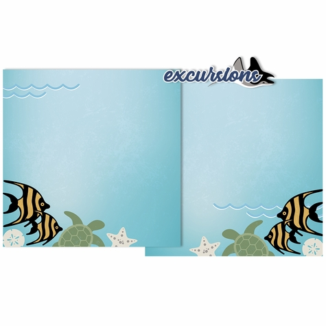 Cruise: Excursions Double Page Layout Kit