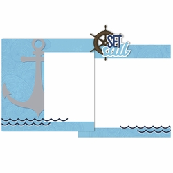 Cruise: Set Sail Double Page Layout Kit