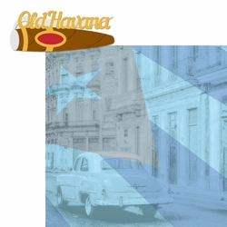 Cuba: Old Havana 2 Piece Laser Die Cut Kit