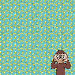 Curious Little Monkey: Curious 12 x 12 Paper