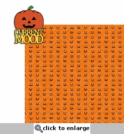 Current Mood Pumpkin 2 Piece Laser Die Cut Kit