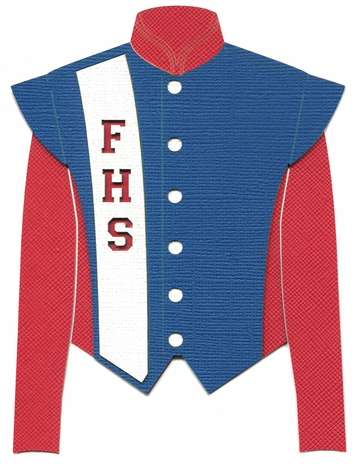 Custom Marching Band Jacket Laser Die Cut