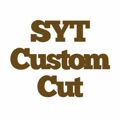 Custom Title Cut - Single Layer