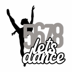 Dance: 5678 Laser Die Cut