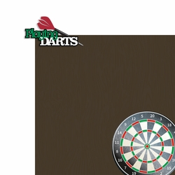 Darts 2 Piece Laser Die Cut Kit