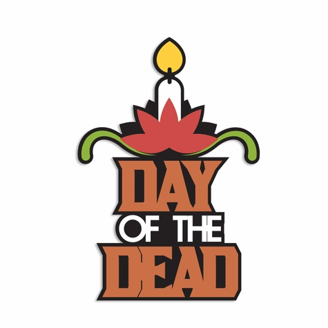 Day of the Dead Laser Die Cut