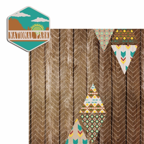 Desert Spirit: National Park 2 Piece Laser Die Cut Kit