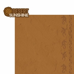 Desert Sunshine 2 Piece Laser Die Cut Kit