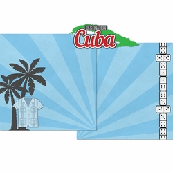 Destination Cuba Double Page Layout Kit