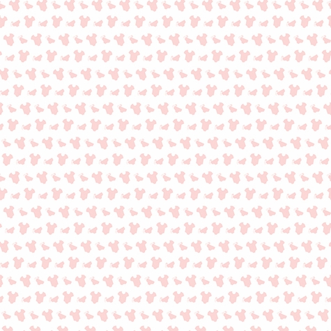 Digital Download: Oh Baby!: Baby Supplies Pink 12 x 12 Paper