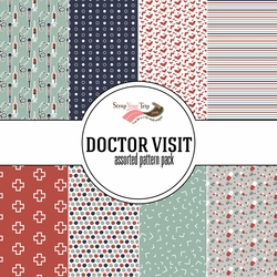 Doctor Visit Assorted 12 x 12 Paper Pack