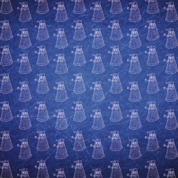Doctor Who: Dalek 12x12 Paper