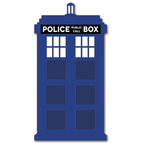 Doctor Who: Large Tardis Die Cut