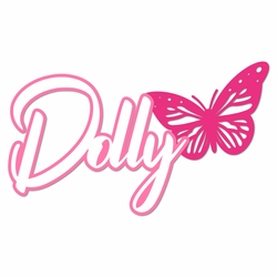 Dolly: Butterfly Laser Die Cut