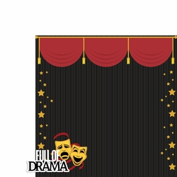 Drama: Full Drama 2 Piece Laser Die Cut Kit