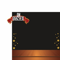 Drama: On Stage 2 Piece Laser Die Cut Kit