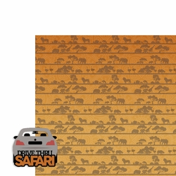 Drive Thru Safari 2 Piece Laser Die Cut Kit