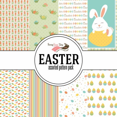 Easter 12 x 12 Assorted Paper Pack