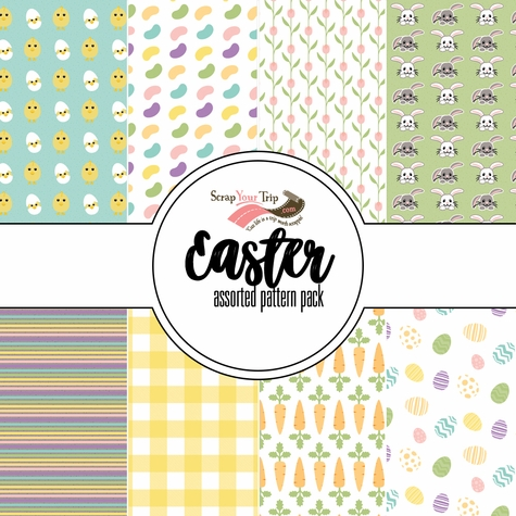 Easter Assorted 12 x 12 Paper Pack