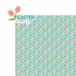 Easter: Easter Blessings 2 Piece Laser Die Cut Kit
