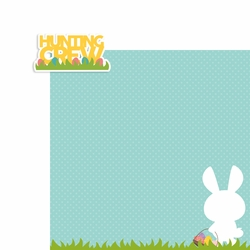 Easter: Hunting Crew 2 Piece Laser Die Cut Kit