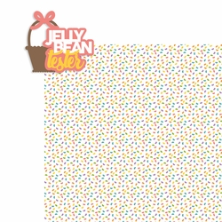 Easter: Jellybean Tester 2 Piece Laser Die Cut Kit